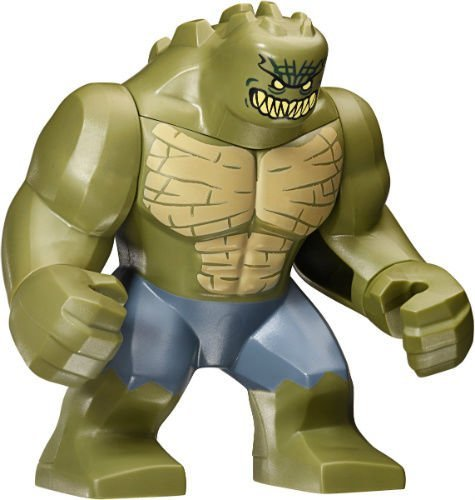 NEW LEGO KILLER CROC MINIFIG figure minifigure 76055 batman sewer smash villain