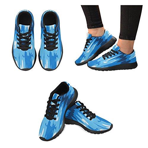 Zenzzle Zapatillas de Running de Lona Para Mujer Negro Negro