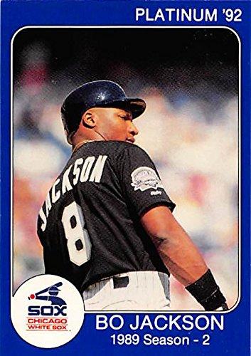 wholesale dealer 7d2cd 3c2d9 Bo Jackson baseball card (Chicago White Sox) 1992 Star ...