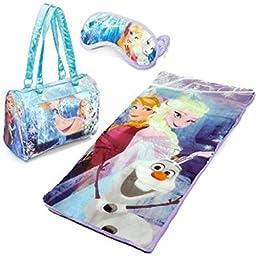Disney Frozen Sleeping Bag Sleepover Set