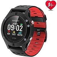 Smart Watch,Sports Watch Altimeter/Barometer/Thermometer Built-in GPS, Fitness Tracker Running,Hiking Climbing,IP67 Waterproof Heart Rate Monitor Men, Women Adventurer