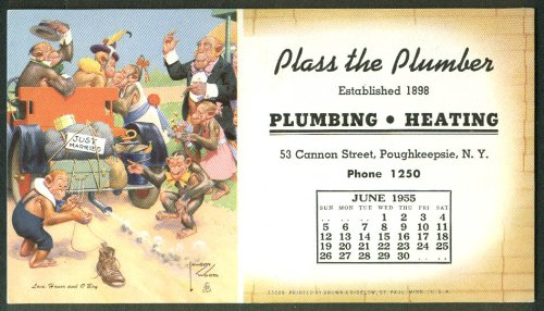 Lawson Wood Monkeys Love Honor O'Boy blotter Plass Plumber Poughkeepsie - Kids Poughkeepsie