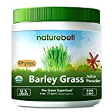 U.S Grown USDA Organic Barley Grass Juice Powder, 6 Ounce, Rich Fiber, Minerals, Vitamins, Antioxidants and Chlorophyll, Non-GMO and Vegan Friendly.