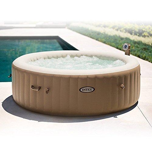 intex 85in purespa portable bubble massage spa set. Black Bedroom Furniture Sets. Home Design Ideas