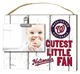 "KH Sports Fan 10""x 8"" Washington Nationals Clip It Weathered Baby Logo Photo Frame"