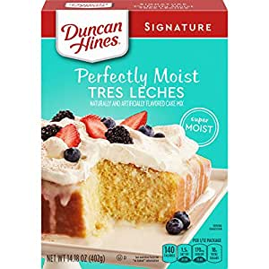 Amazon Com Duncan Hines Signature Tres Leches Cake Mix