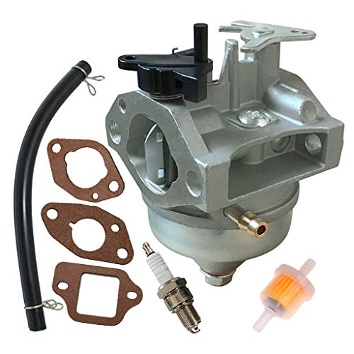 Fuerdi GCV160 Carburetor for Honda GCV160A GCV160LA GCV160LAO Engines Replacement 16100-Z0L-853 Carb with Gasket Spark Plug Kit