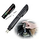 GS Universal Auto Brake Fluid Tester Pen 5 LED Indicator Mini Car Vehicle Testing Tool Car Fluid Tester Diagnostic Tools For DOT3 DOT4 DOT5