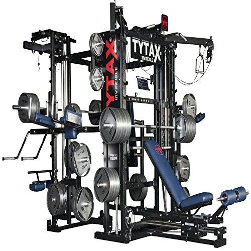 Tytax® T3-x ultime Home Multi Gym machine de fitness Meilleur gratuit Poids Pro Banc de séance d'entraînement d'exercice