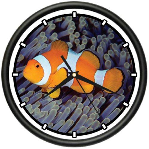 Pink Skunk Clown Fish - SignMission Clownfish Wall Clock Clown Fish Tank Tropical Aquarium, Beagle