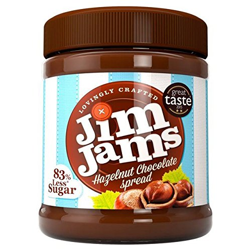 JimJams 83% Less Sugar Hazelnut Chocolate Spread - 350g