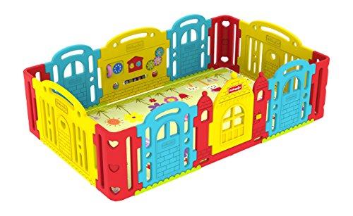 Dwinguler Castle Kids Playpen(Rainbow)