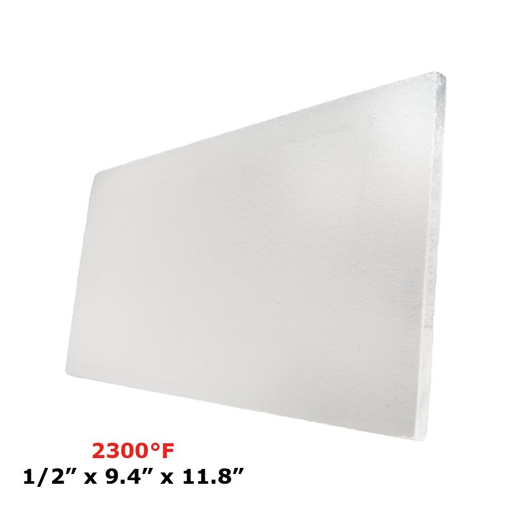Thermal Insulation Board (2300F) (1/2 X 9.4 X 11.8) for Wood Ovens, Stoves, Forges, Kilns, Furnaces Simond Fibertech Limited