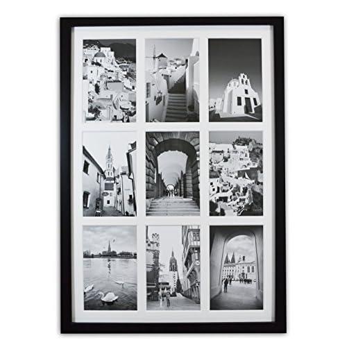 60%OFF Golden State Art, 13.6x19.7 Black Photo Wood Collage Frame ...