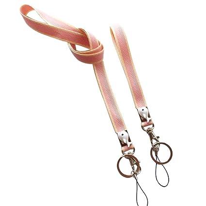 Ozzptuu 2 unidades de cordón para el cuello con delfines ...