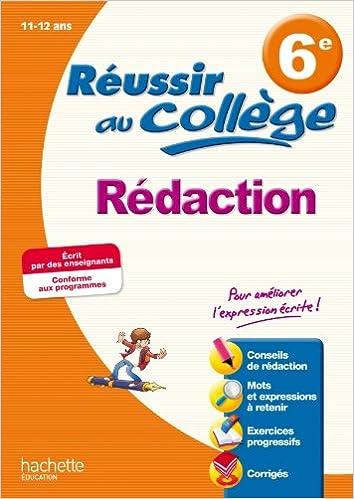 Livres A Telecharger Reussir Au College Redaction 6e Pdf