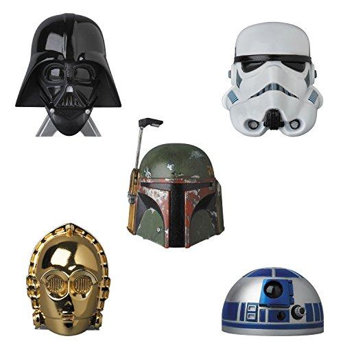 Star Wars Q-BANG DARTH VADER First Order STORMTROOPER C-3PO R2D2 BOBA FETT Medicom (Medicom Boba Fett)