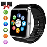 ANCwear Smart Watch Android Phones, Bluetooth Smartwatch Touch Screen Camera Sport Tracker Watch