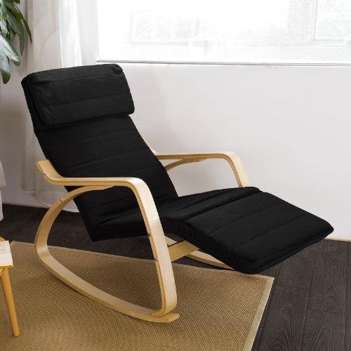 Haotian comfortable relax rocking chair with foot rest - Rocking chair comfortable ...
