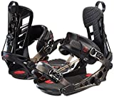 K2 Men's Cinch TS: Snowboard Bindings (Black, XLarge)