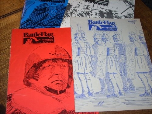 (4) Issues of 1973 BATTLEFLAG The Magazine of Encounter - Issues 23, 24, 25, 26. Waterloo, PBI, Horseshoe Bend, Richthofen's War +++ Original issues (no copies or reprints). No games included.