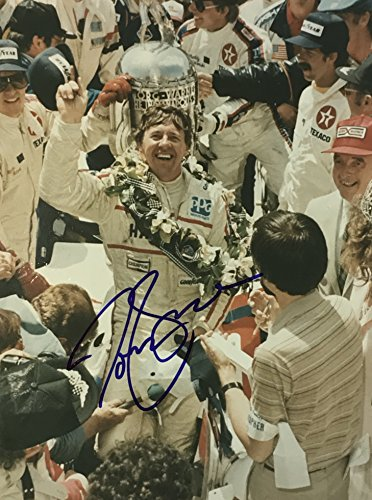 Tom Sneva Indy 500 signed Photo 8x10 inch indy car racing IRL ()