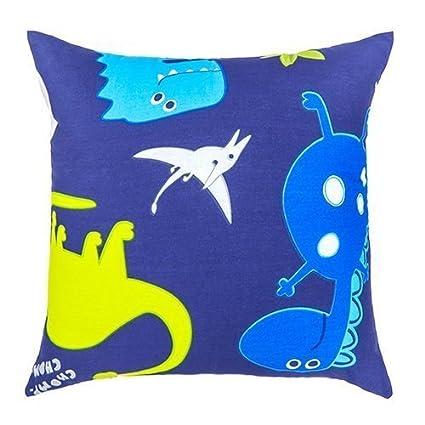 Transport Design Children/'s Kids Filled Scatter Cushion with Zip Cover Bedroom