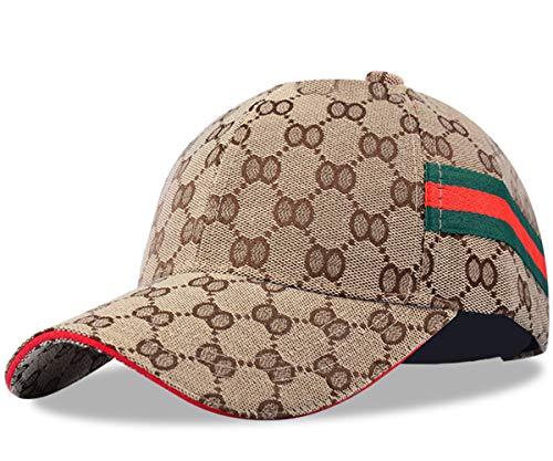 Unisex Fashion Honeycomb OO Baseball Caps Adjustable Quick Dry Sports Cap Sun Hat (Khaki-A)