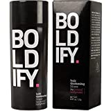 BOLDIFY Hair Fibers for Thinning Hair - 100% Undetectable Keratin Fibers - 25g Bottle - Completely Conceals Hair Loss in 15 Seconds (Light Blonde)