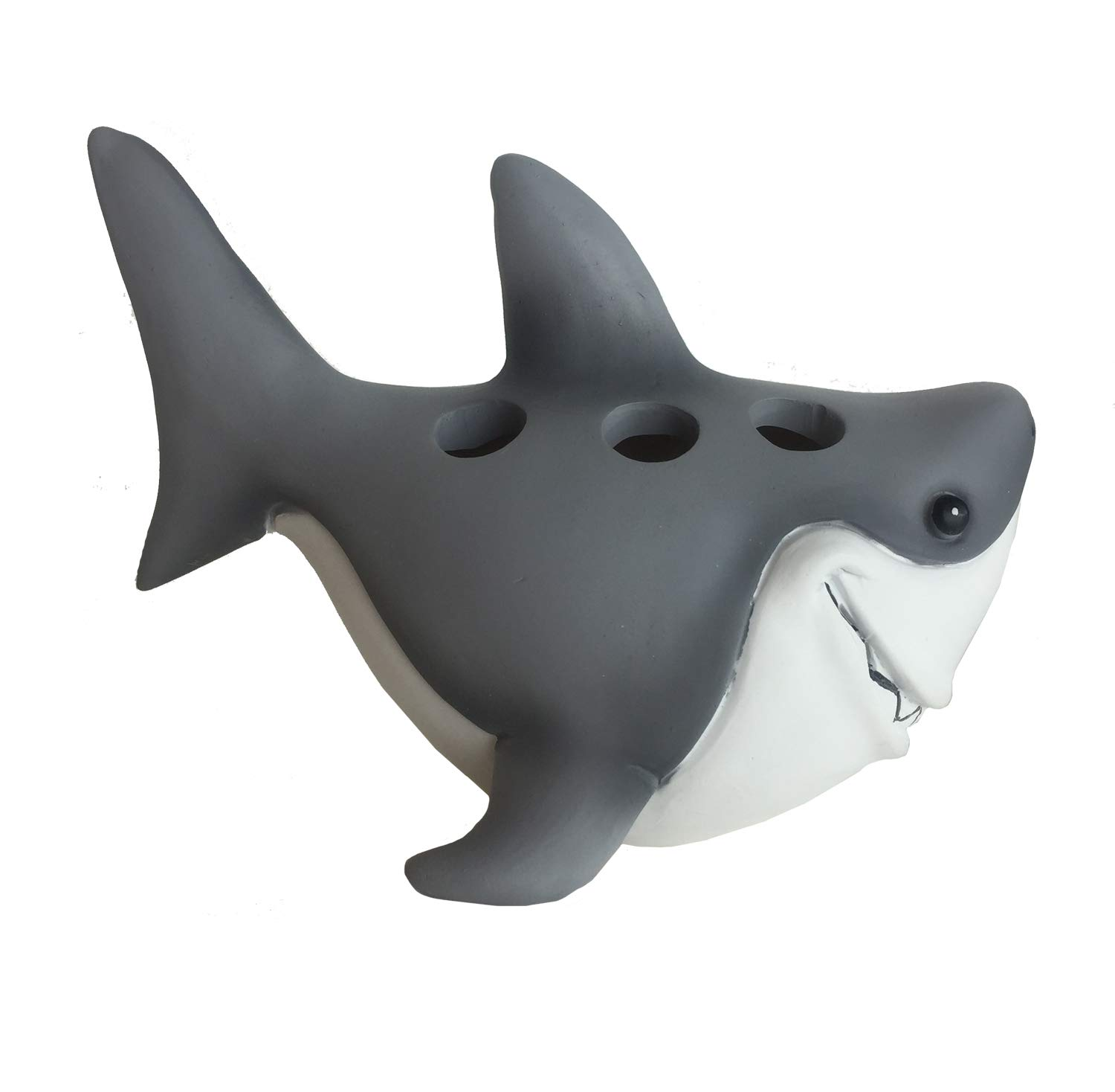 Borders Unlimited Fish 'N Sharks White Toothbrush Holder Multi 70029