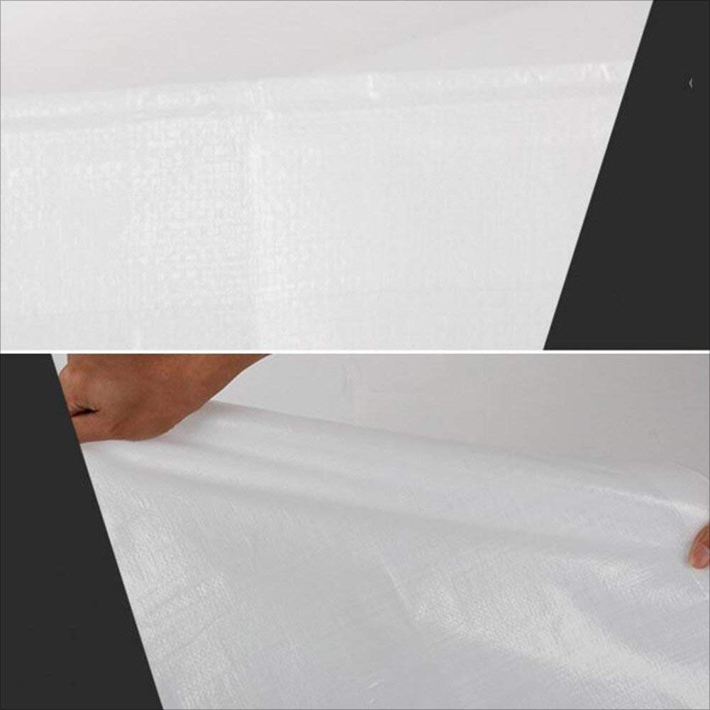 ZHULIAN Weiße Weiße Weiße Plane, Sonnenschutzplane für LKW-Regenschutz, staubdichtes und winddichtes Schuppengewebe für Fracht, hochtemperaturBesteändig und Anti-Aging, Outdoor-Plane B07P7DX2KZ Zeltplanen Erschwinglich 6858d0