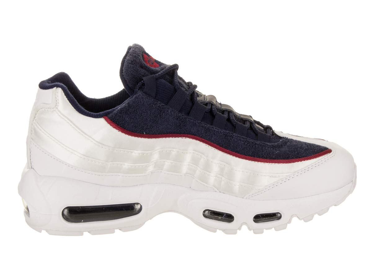 94a5eeb50b96 Amazon.com  Nike Women s Air Max 95 LX Casual Shoe 9.5 White  Sports    Outdoors