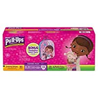 Huggies® Pull-Ups® Training Pants for Girls Day and Night Combo Pack Size: 2T-3T 124 Count