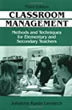 img - for Classroom Management: Methods and Techniques for Elementary and Secondary Teachers by Johanna Kasin Lemlech (1998-08-06) book / textbook / text book