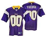 Minnesota Vikings NFL Mens Team Replica Jersey, Purple