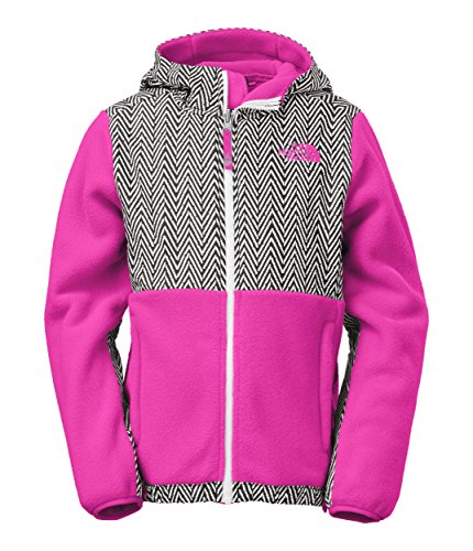 The North Face Denali Hoodie Girl's Recycled Azalea Pink XL by The North Face