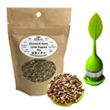 Ayurvedic Stomach Relief & Liver Cleansing Detox tea - Organic Loose Leaf Milk Thistle, Fennel, Ginger, Peppermint and Licorice Tea (Original with tea Infuser, 2 oz.)