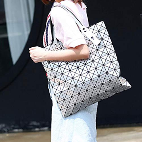 Casual Delle Tracolla Capacità Daypack A Grande 42cm Borsa Pink Crossbody 42 colore Moda Bianca Donne Pu Dimensioni rSqX8r