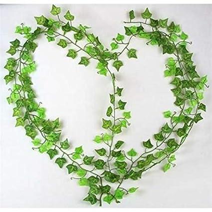 Amazon.com DALAI 20PCS Artificial Plants Vine Leaves Home