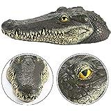 Amazon.com: Alligator Head Decoy & Pond Float, solución de ...