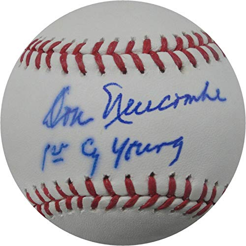 Don Newcombe Autographed MLB Baseball Dodgers