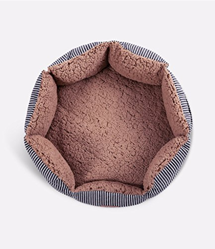 Smiling Paws Pets Round Pet Bed For Cats & Small Dogs – Pr
