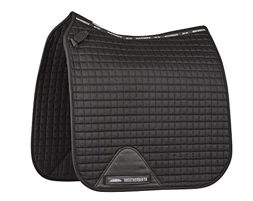 Weatherbeeta Prime Dressage Saddle Pad Black Full