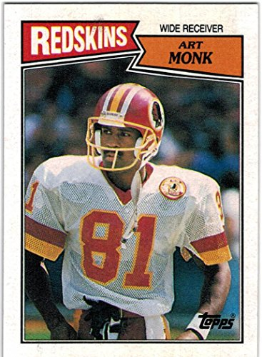 1987 Topps Washington Redskins '87 Super Bowl Champions Team Set with Art Monk & Darrell Green - 16 Cards Art Monk Washington Redskins