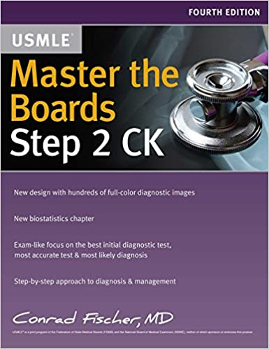 Master the boards usmle step 2 ck conrad fischer md 9781506208534 master the boards usmle step 2 ck fourth edition fandeluxe Choice Image
