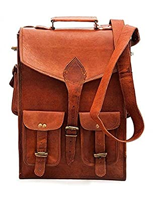 CraftShades Adults Leather Trendy Backpack