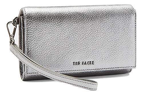 Ted Baker - Cartera para mujer de piel Mujer Gris gris ...