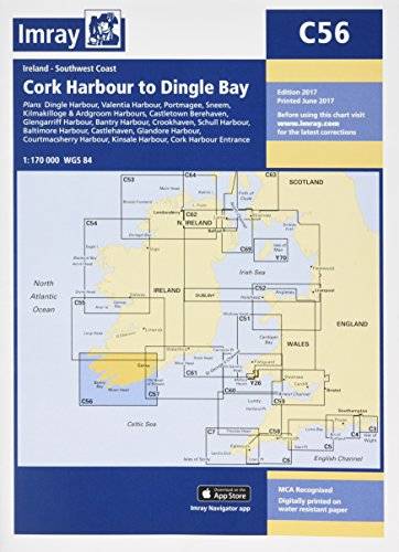 (Imray Chart C56: Cork Harbour to Dingle Bay (C Series))
