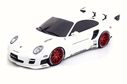 2010 Porsche 997 Turbo Hard Top, White - ACME ZM090 - 1/18 Scale