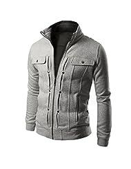 Men's Jacket, Changeshopping TOP Fashion Mens Slim Designed Lapel Cardigan Coat